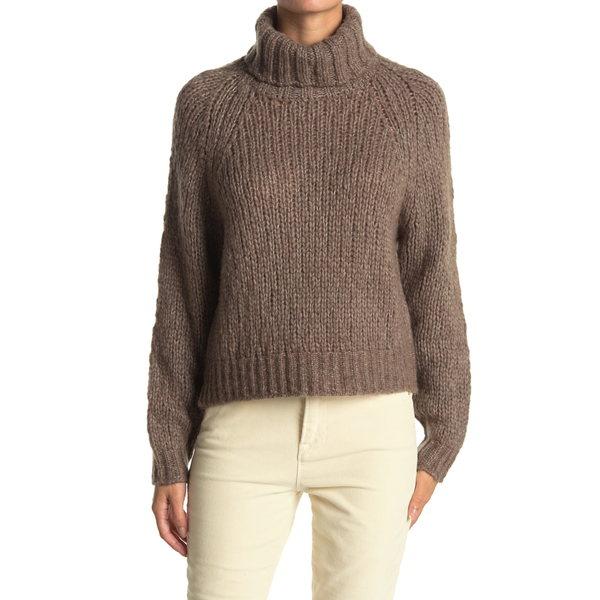 レディース 360カシミア Turtleneck PORCUPINE ニット&セーター Sweater Atlas アウター