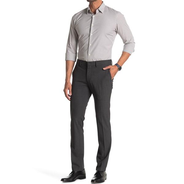 適切な価格 ケネスコール メンズ カジュアルパンツ ボトムス Stretch Plain Weave Slim Fit Flex Dress Pants CHARCOAL HTR, アトリエブルージュflower shop 66b39baa