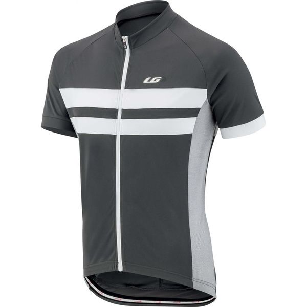 イルスガーナー メンズ サイクリング スポーツ Louis Garneau Evans Classic Jersey - Short-Sleeve - Men's Grey/White