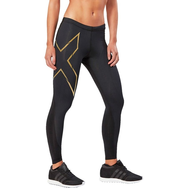 2XU レディース サイクリング スポーツ 2XU Elite MCS Thermal Compression Tight - Women's Black/Gold