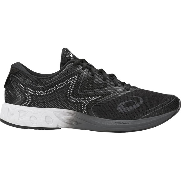 アシックス メンズ ランニング スポーツ Asics Noosa FF Running Shoe - Men's Black/White/Carbon
