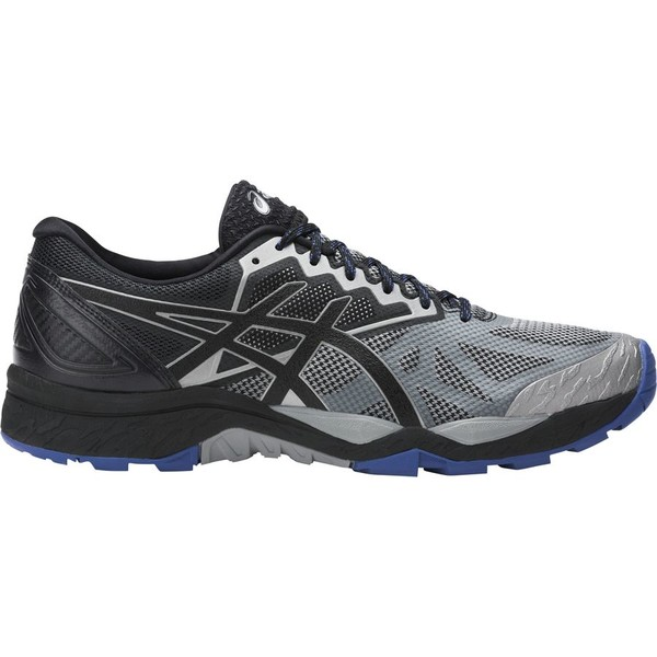 アシックス メンズ ランニング スポーツ Asics Gel-Fujitrabuco 6 Trail Running Shoe - Men's Aluminum/Black/Limoges