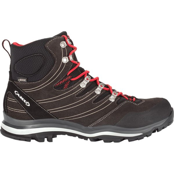 アク メンズ ハイキング スポーツ AKU Alterra GTX Hiking Boot - Men's Anthracite/Red