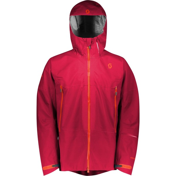 スコット メンズ スキー スポーツ Vertic Tour Hooded Jacket - Men's Royal Red