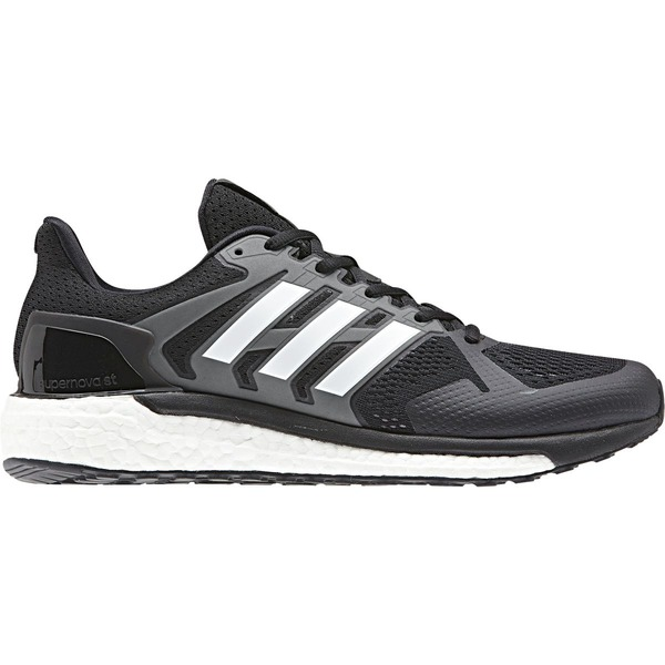 アディダス メンズ ランニング スポーツ Supernova ST Running Shoe - Men's Core Black/Footwear White/Grey Three