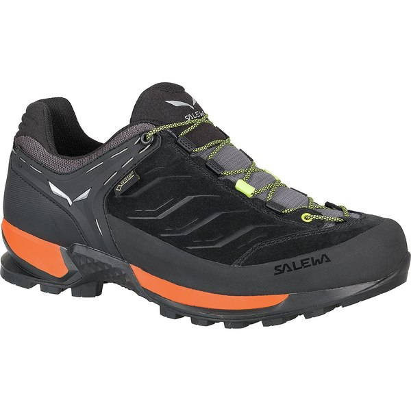 サレワ メンズ ハイキング スポーツ Mountain Trainer GTX Hiking Shoe Black Out/Holland