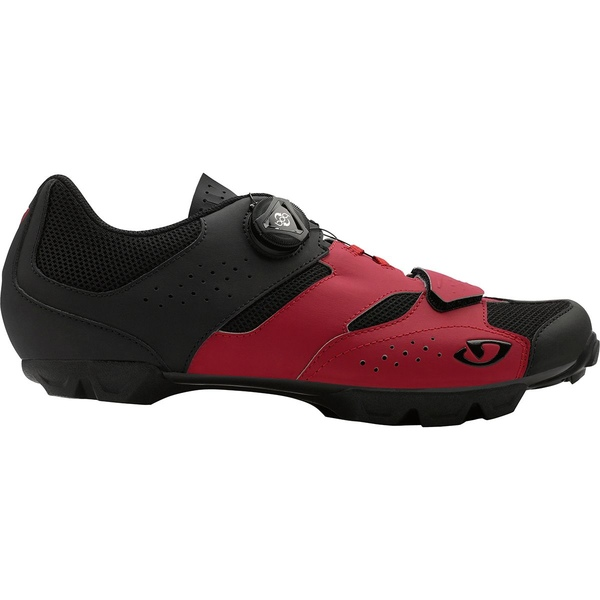 ジロ メンズ サイクリング スポーツ Cylinder Mountain Bike Shoe - Men's Dark Red/Black