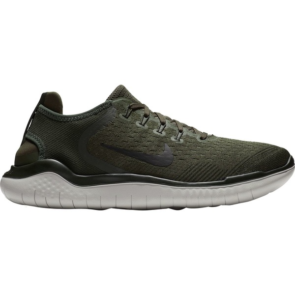 ナイキ メンズ ランニング スポーツ Free RN Running Shoe - Men's Cargo Khaki/Black-Sequoia