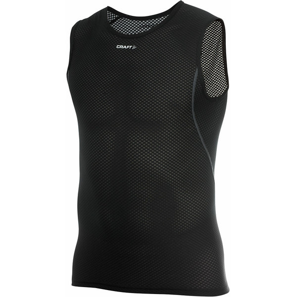 クラフト メンズ サイクリング スポーツ COOL Mesh Superlight Sleeveless Baselayer - Men's Black