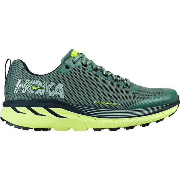 ホッカオネオネ メンズ ランニング スポーツ Challenger ATR 4 Running Shoe - Men's Silver Pine/Chinois Green