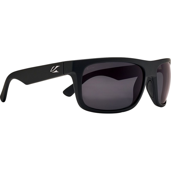 カエノン メンズ サングラス・アイウェア アクセサリー Burnet Mid Ultra Polarized Sunglasses Black Matte Grip/Ultra Grey 12-Polarized