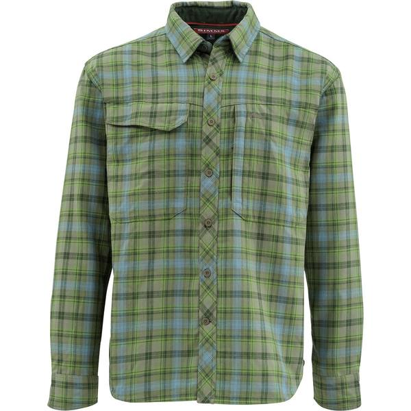 シムズ メンズ シャツ トップス Guide Flannel Long-Sleeve Shirt - Men's Timber Plaid