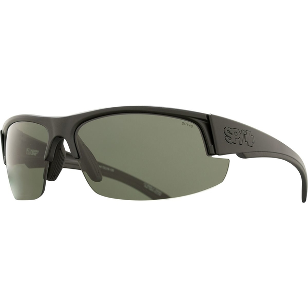 スパイ メンズ サングラス・アイウェア アクセサリー Sprinter Polarized Sunglasses Matte Black Ansi Rx - Happy Gray Green Polar
