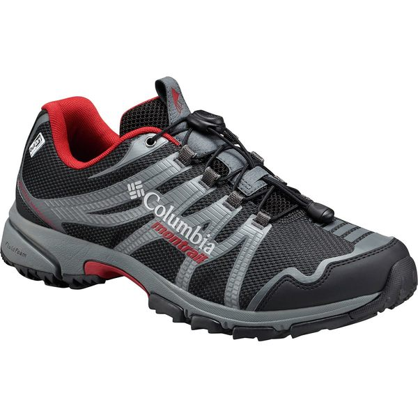 コロンビア メンズ ハイキング スポーツ Mountain Masochist IV Outdry Hiking Shoe Black/Rocket