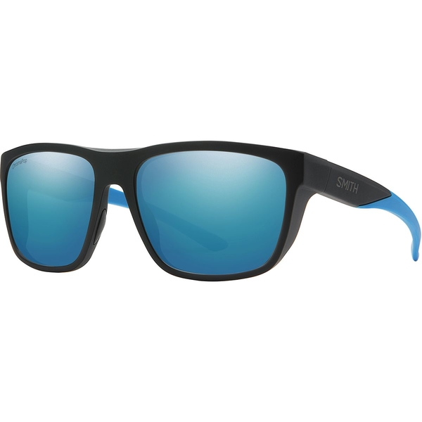スミス メンズ サングラス・アイウェア アクセサリー Barra ChromaPop Polarized Sunglasses Matte Black Blue/Polarized Blue