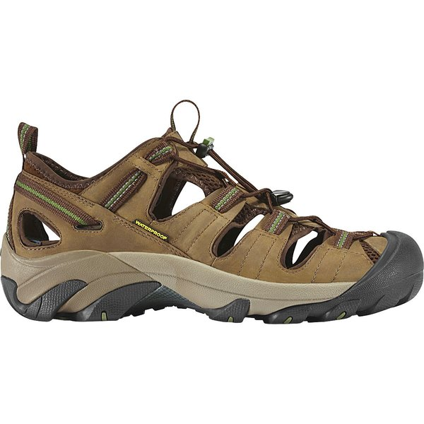 キーン メンズ ハイキング スポーツ Arroyo II Hiking Shoe - Men's Slate Black/Bronze Green