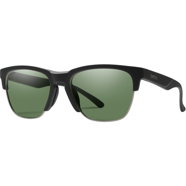 スミス メンズ サングラス・アイウェア アクセサリー Haywire ChromaPop Polarized Sunglasses Matte Black/Polarized Gray Green