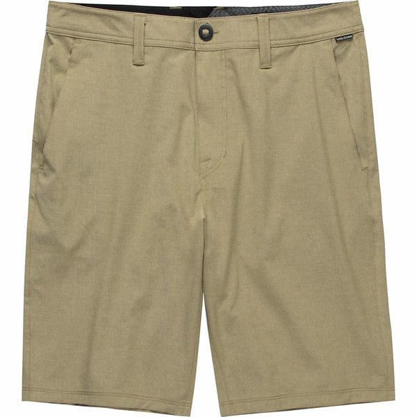 ボルコム メンズ ハーフ&ショーツ ボトムス Frickin Surf N' Turf Static Hybrid Short - Men's Dark Khaki