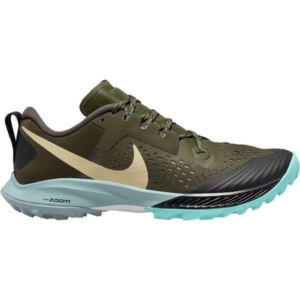 ナイキ レディース スニーカー シューズ Air Zoom Terra Kiger 5 Trail Running Shoe - Women's Cargo Khaki/Team Gold-Black-Jade Stone