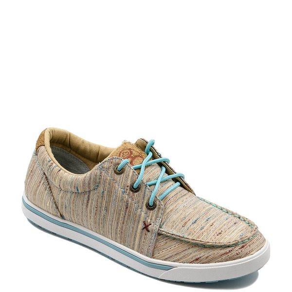 ツイステッド エックス レディース スニーカー シューズ Women's Multi Stripe Hooey Loper Sneakers Tan Multi Stripe