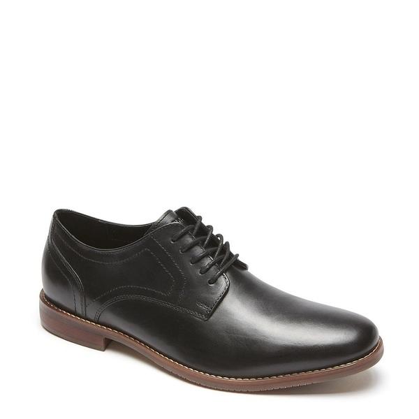 ロックポート メンズ ドレスシューズ シューズ Men's Leather Style Purpose Oxford Black