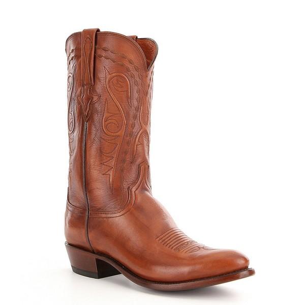 ルチーズ メンズ ブーツ&レインブーツ シューズ Men's Brandon Western Boot Whiskey