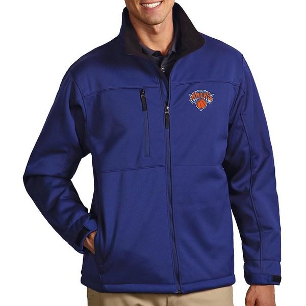 アンティグア メンズ ジャケット&ブルゾン アウター NBA Traverse Water-Resistant Full-Zip Jacket New York Knicks