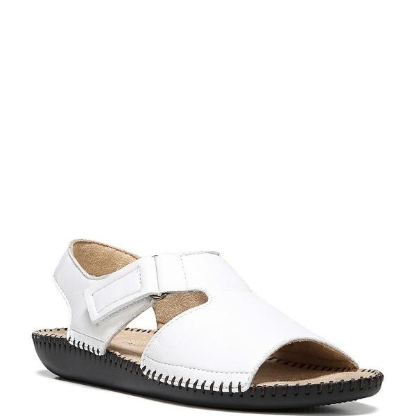 ナチュライザー レディース サンダル シューズ Scout Leather Banded Sandals White