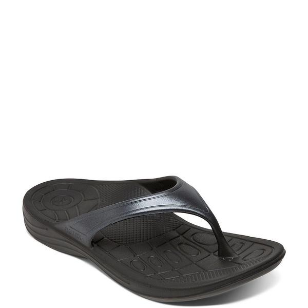 エイトレックス レディース サンダル シューズ Fiji Flip Flops Black