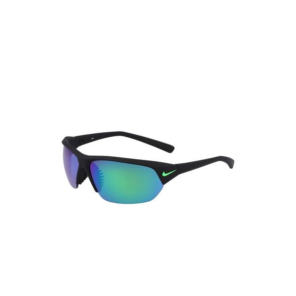 ナイキ メンズ アクセサリー サングラス アイウェア MATTE 新作送料無料 BLACK 69mm 使い勝手の良い Ace GREEN 全商品無料サイズ交換 MR Sunglasses Skylon