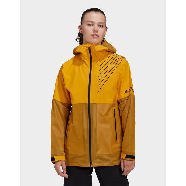【NEW限定品】 アディダス レディース ジャケット&ブルゾン アウター adidas Terrex 3-Layer Zupahike Rain Jacket -, サタチョウ 4ce80b93