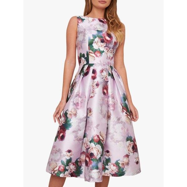 ワンピース - チチロンドン トップス Chi Floral London Pink Chi Dress, レディース Ariyah