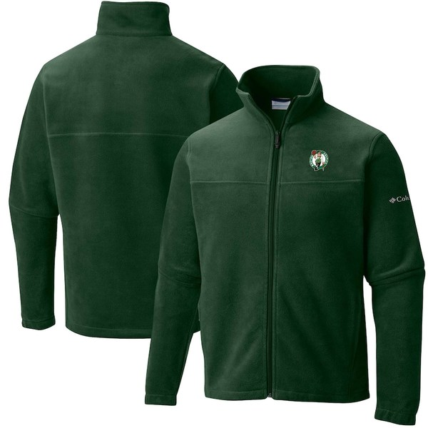 コロンビア レディース ジャケット&ブルゾン アウター Boston Celtics Columbia Women's Give & Go Full-Zip Jacket Kelly Green