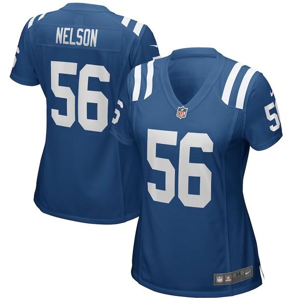 ナイキ レディース シャツ トップス Quenton Nelson Indianapolis Colts Nike Women's Game Jersey Royal
