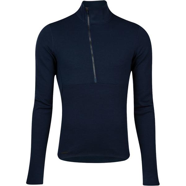 大注目 パールイズミ メンズ スポーツ サイクリング Navy 全商品無料サイズ交換 気質アップ Pi Thermal Sweater Men's - Black Merino