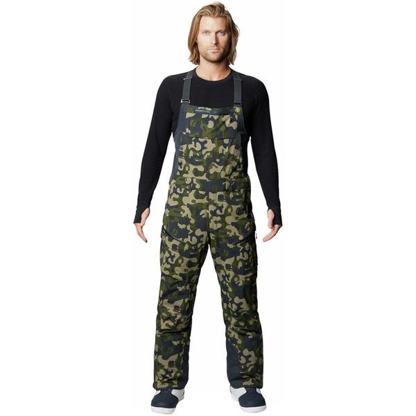 マウンテンハードウェア 爆買い新作 《週末限定タイムセール》 メンズ スポーツ スキー Dark Army Camo - Men's Firefall Bib Pant 全商品無料サイズ交換
