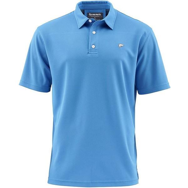シムズ メンズ ポロシャツ トップス Simms Polo Shirt - Men's Pacific