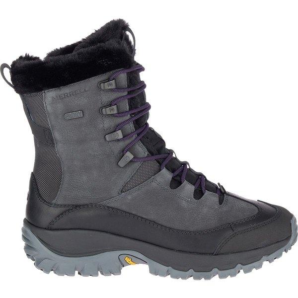 メレル レディース ブーツ&レインブーツ シューズ Thermo Rhea Mid WP Boot - Women's Granite