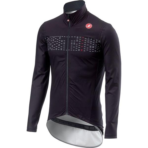 カステリ メンズ サイクリング スポーツ Pro Fit Light Rain Jacket - Men's Light Black