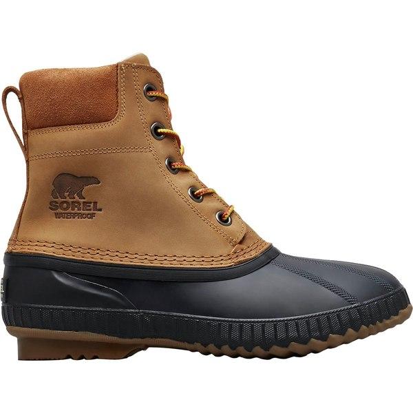 ソレル メンズ ブーツ&レインブーツ シューズ Cheyanne II Boot - Men's Chipmunk/Black
