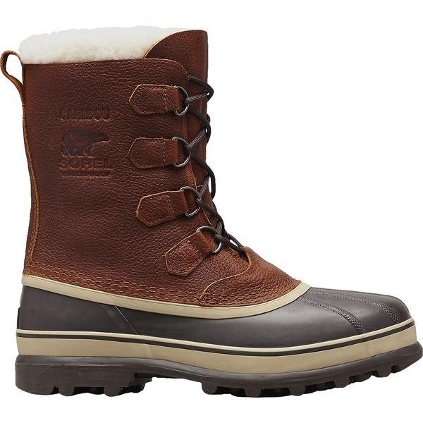 ソレル メンズ ブーツ&レインブーツ シューズ Caribou Wool Boot - Men's Tobacco