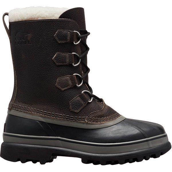 ソレル メンズ ブーツ&レインブーツ シューズ Caribou Wool Boot - Men's Quarry/Black