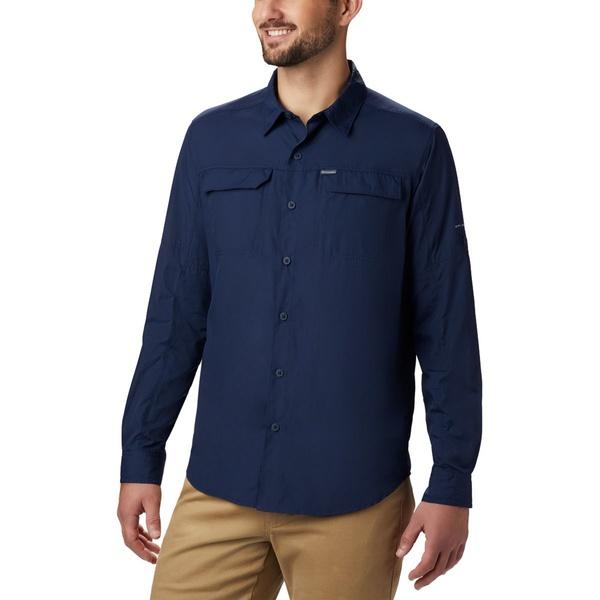 コロンビア メンズ シャツ トップス Silver Ridge 2.0 Long-Sleeve Shirt - Men's Collegiate Navy