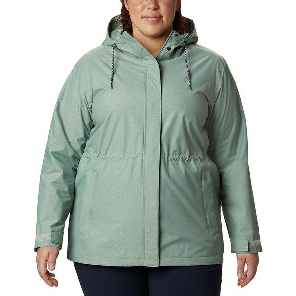 コロンビア レディース ジャケット&ブルゾン アウター Norwalk Mountain Jacket - Women's Light Lichen Heather