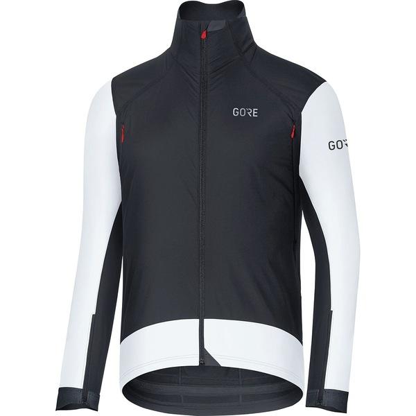 ゴアウェア メンズ サイクリング スポーツ C7 Gore Windstopper Pro Jacket - Men's Black/White