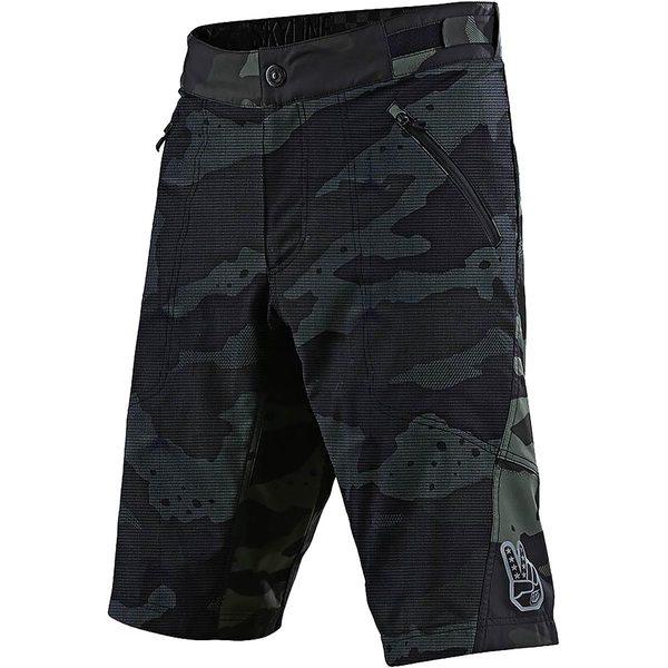 トロイリーデザイン メンズ サイクリング スポーツ Skyline Short Shell - Men's Camo Green