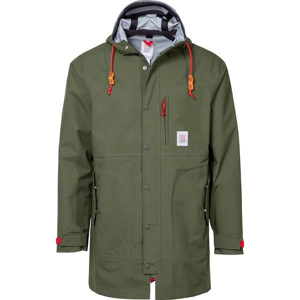 トポ・デザイン メンズ ジャケット&ブルゾン アウター Tech 3L Trench Coat - Men's Olive