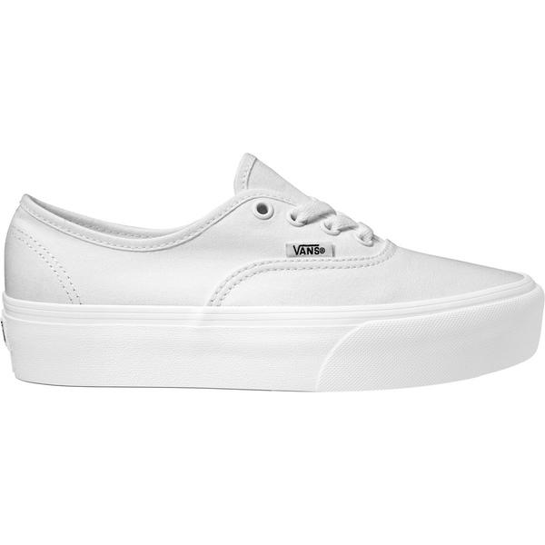 バンズ レディース スニーカー シューズ Authentic Platform 2.0 Shoe - Women's True White