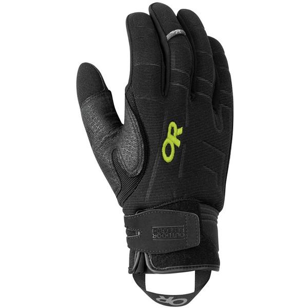 アウトドアリサーチ メンズ 手袋 アクセサリー Alibi II Glove Black/Lemongrass