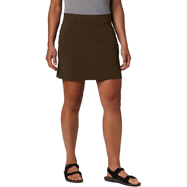 コロンビア レディース スカート ボトムス Anytime Casual Stretch Skort - Women's Olive Green:asty